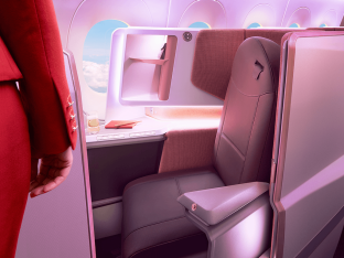 Virgin Atlantic raises the bar for its first A350-1000